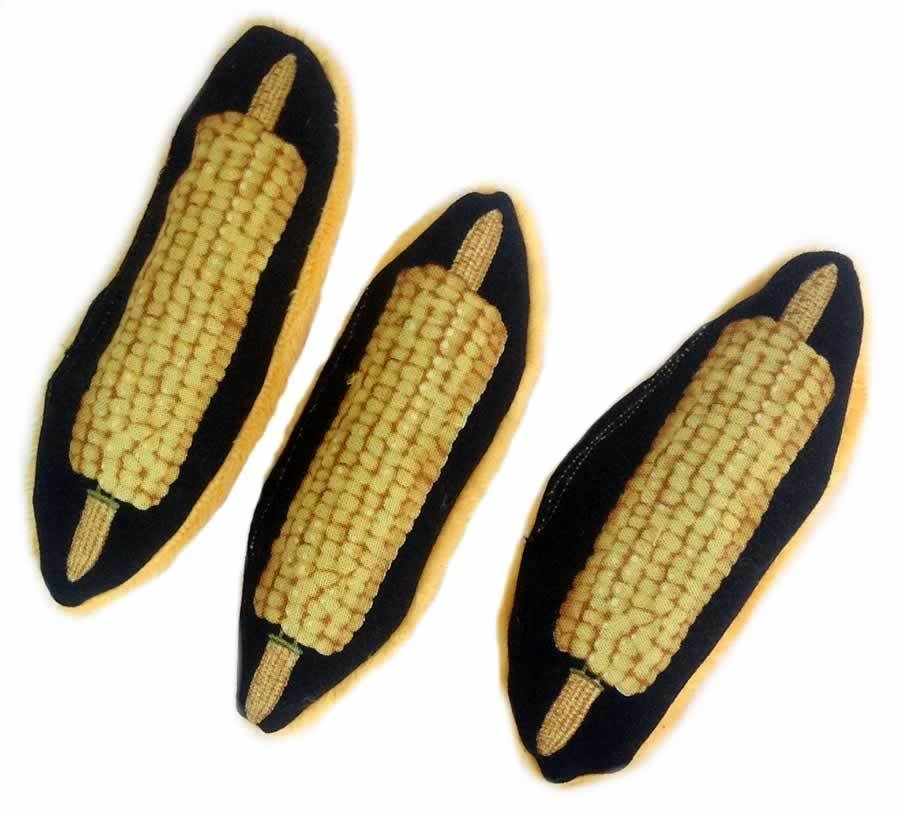Corn on the Cob Catnip Toy 00193