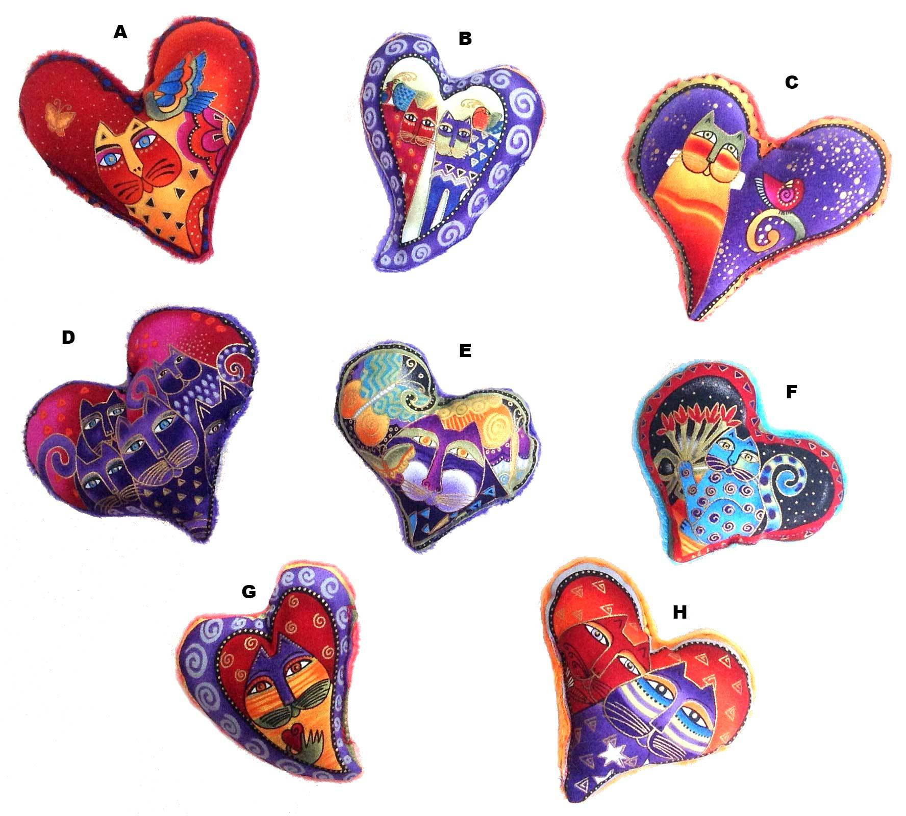 Laurel Burch Heart Cat Toys 00200