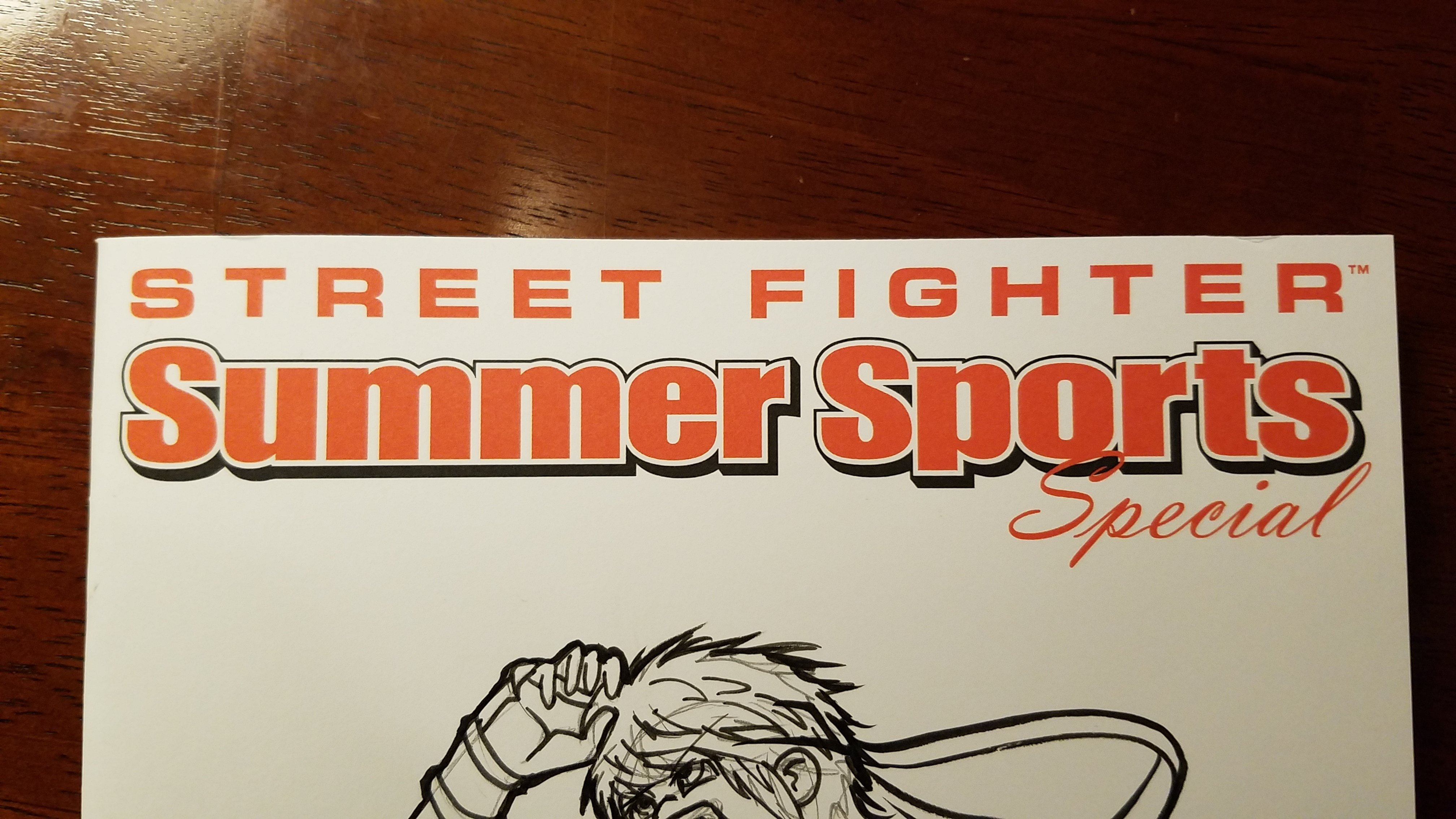 CUSTOM COVER - Street Fighter Summer Collection #1
