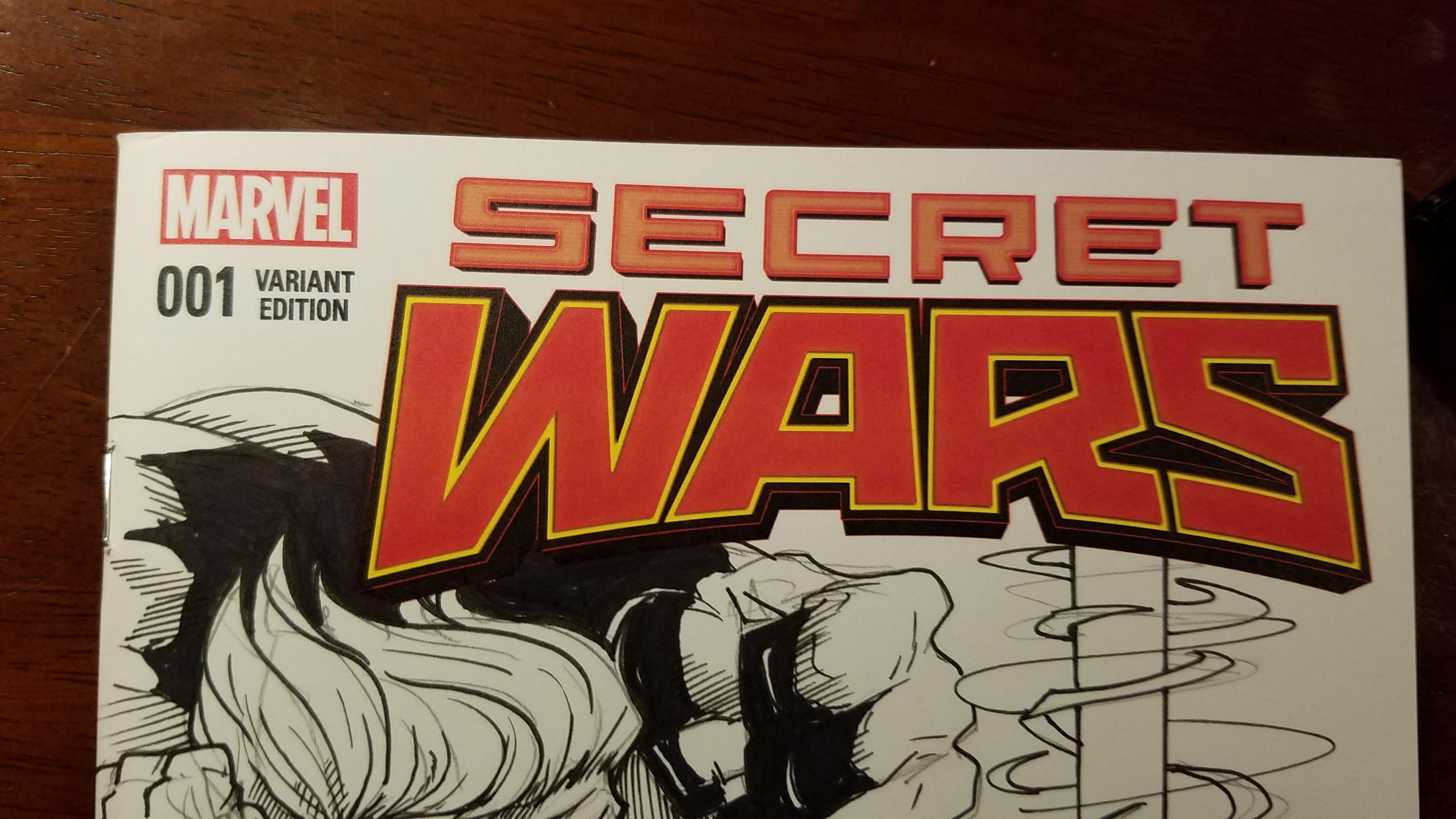 Custom Cover Art    Secret Wars #1