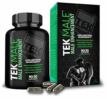 TekMale Male Enhancement Growth Pills 11329001
