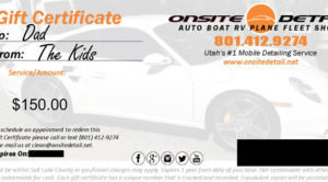 Gift Certificate 00005