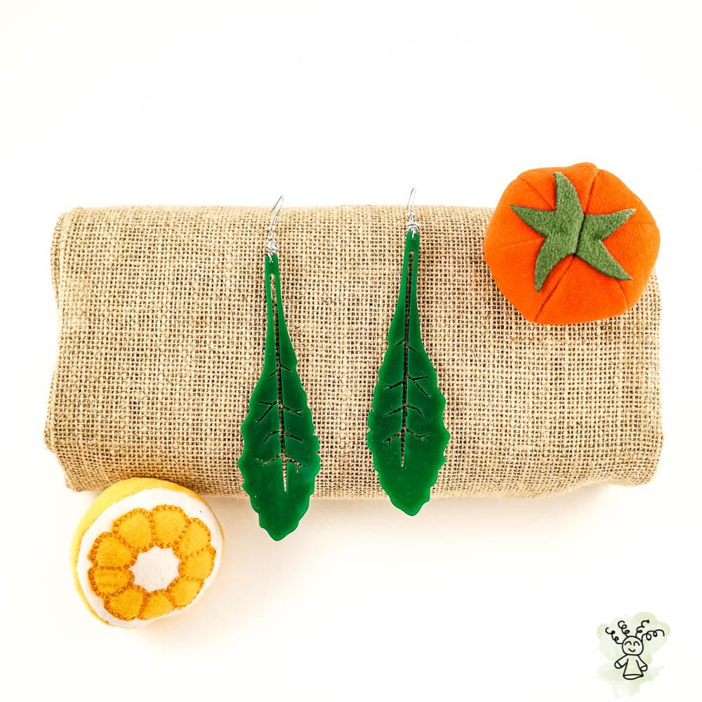 Kale Earrings