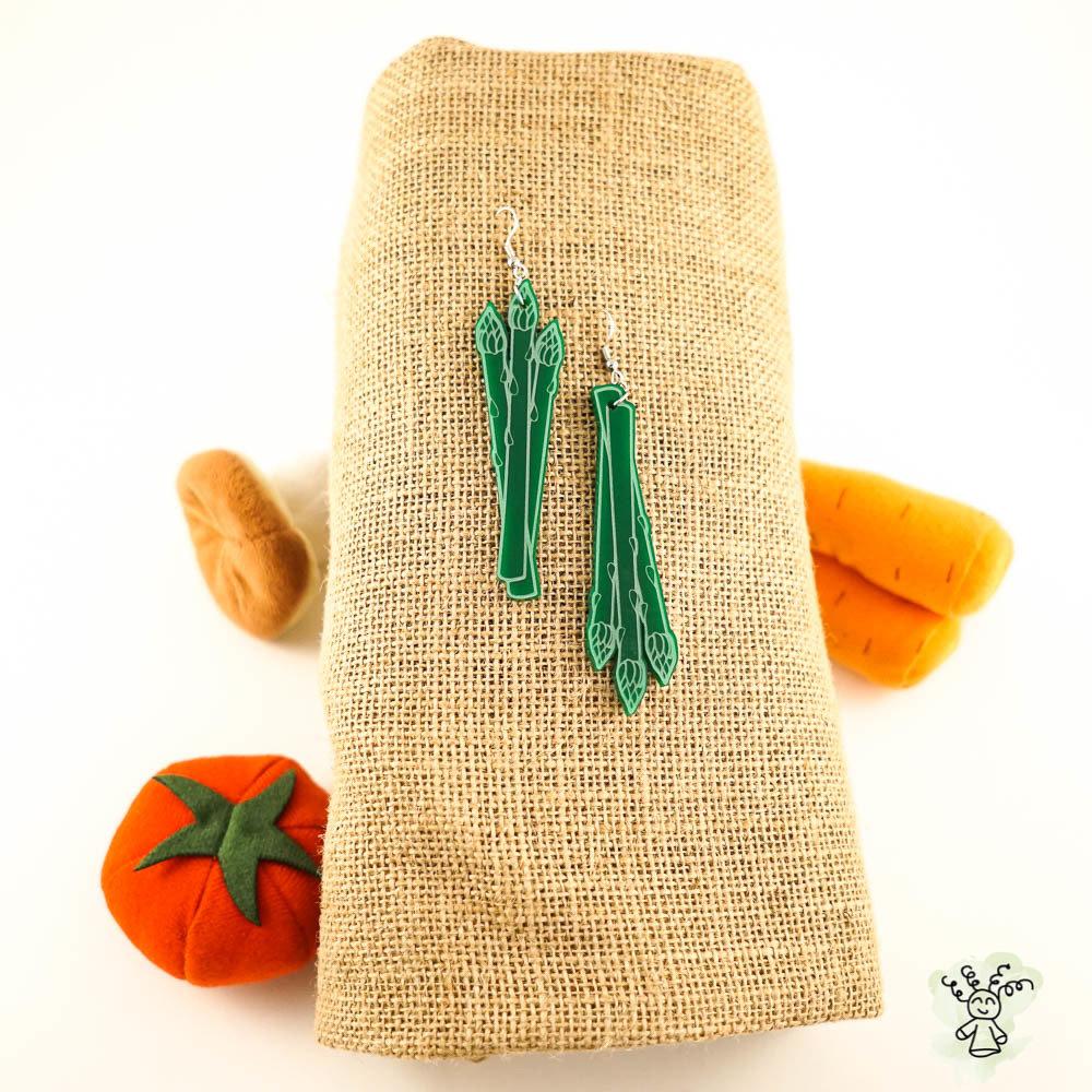 Asparagus Earrings