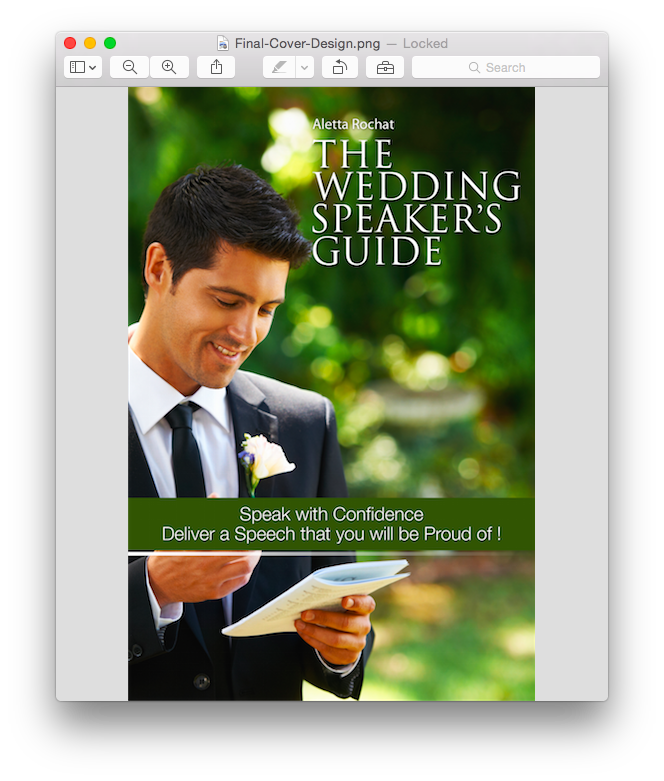 The Wedding Speaker's Guide - Speak with Confidence. Deliver a Speech you will be Proud of! 00002