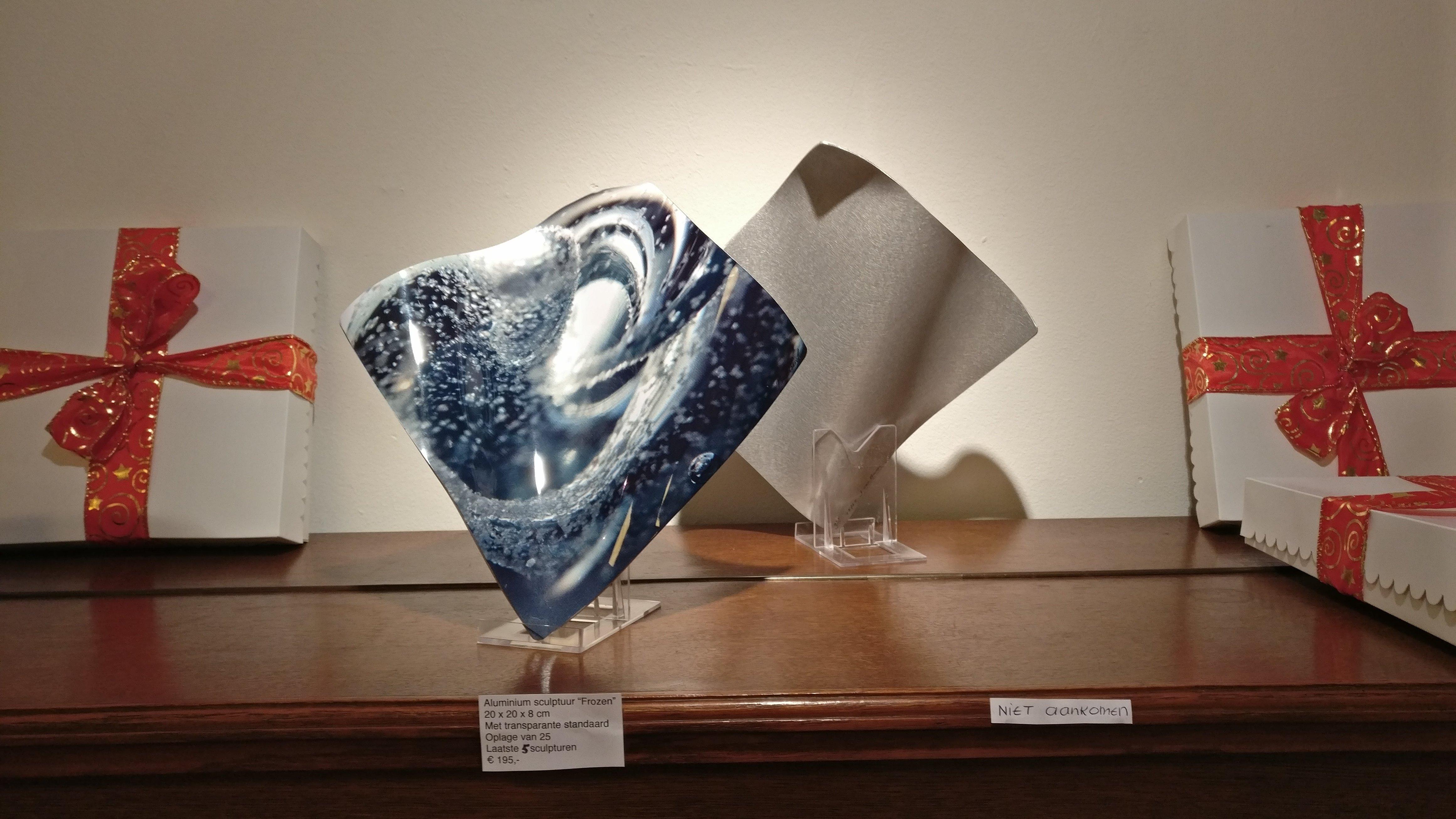 'Frozen', Sculpture in aluminum Numbers 19/25