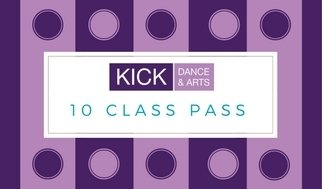Adult Classes 10 class pass (BUY ONE GET ONE FREE!) 00010