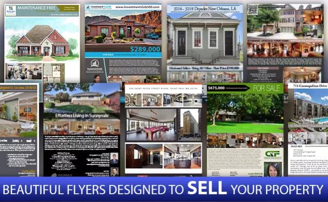 Beautiful Custom Real Estate Flyers FLYER