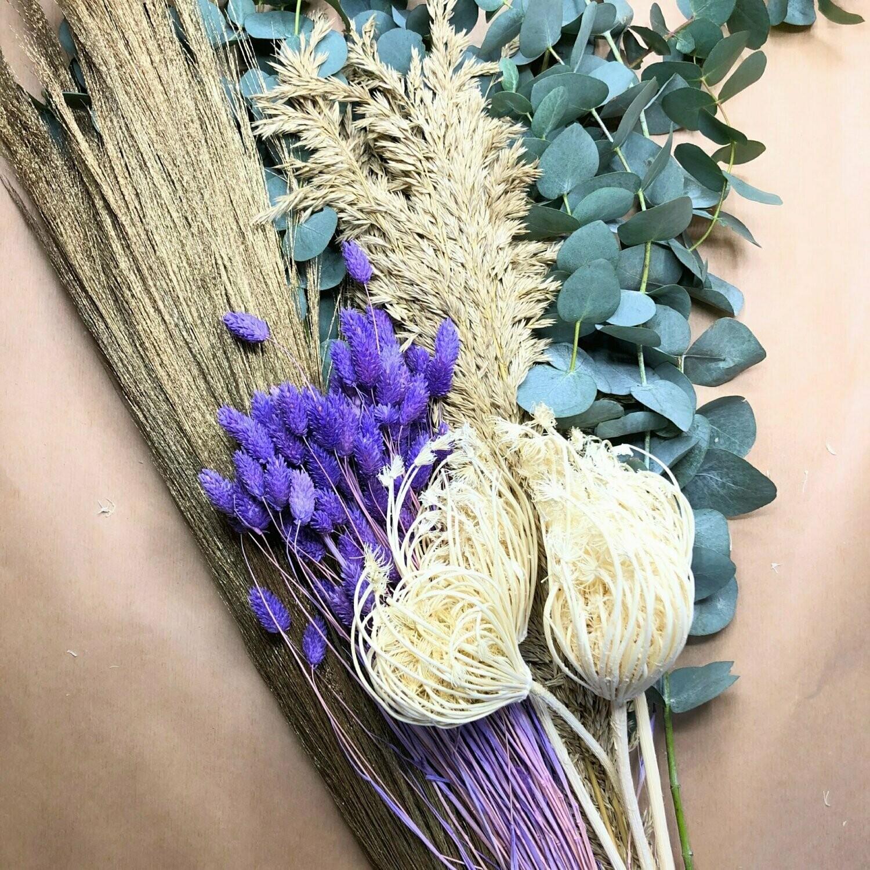 Trockenblumen Set 6