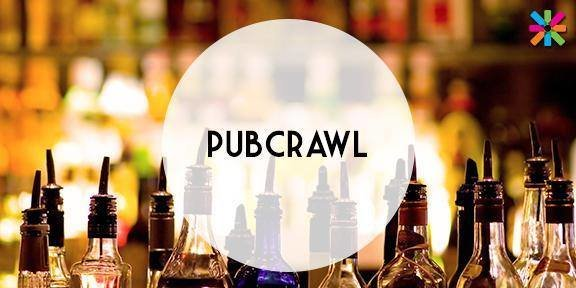 Pub Crawl with 4 Welcome Drinks
