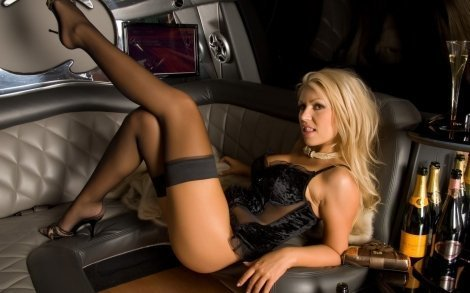 Limo Airport Pickup Service Including Stripper