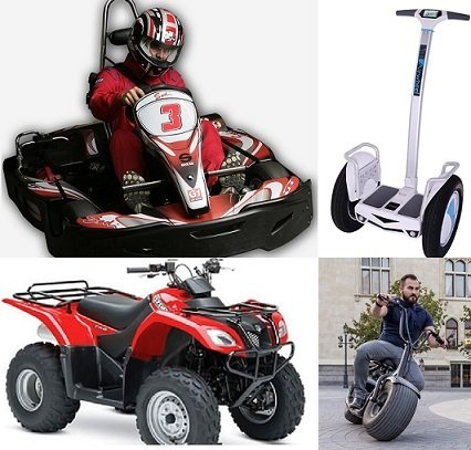 GO-KART / QUAD-BIKE / BUBBLE FOOTBALL/ MONSTER ROLLER GO-KART / QUAD-BIKE / BUBBLE FOOTBALL/ MONSTER ROLLER