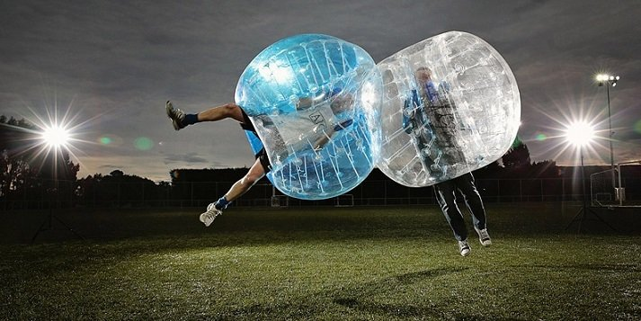 Extras: Zorb Football (Bubble Football)