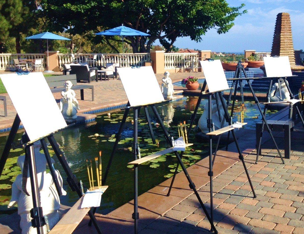 Canvas Painting Tuesday 11am - Marriott's Newport Coast Villas at The Koi Pond