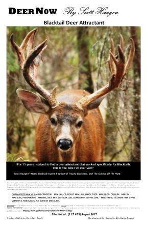 DeerNow Blacktail 5# - FREE SHIPPING 00001