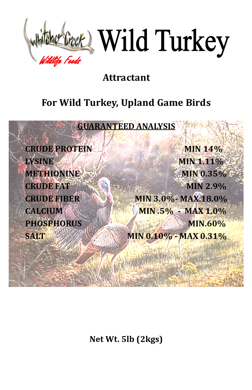 Deer Candy - Wild Turkey 5# - FREE SHIPPING 00004