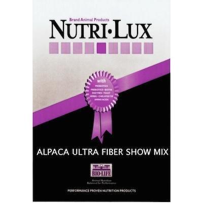 NUTRI-LUX ALPACA ULTRA FIBER SHOW MIX 00035