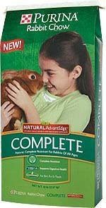 PURINA COMPLETE NATURAL RABBIT 25# 00091