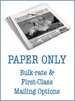 Crestone Eagle News - Annual Paper Subscription AP