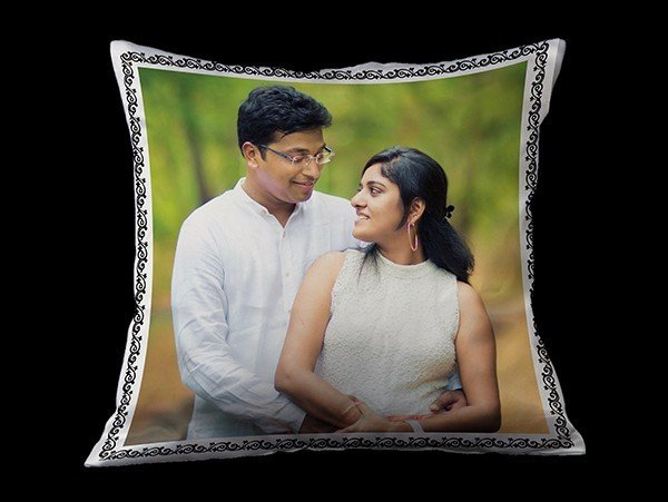 Photo cushion for couple 00005