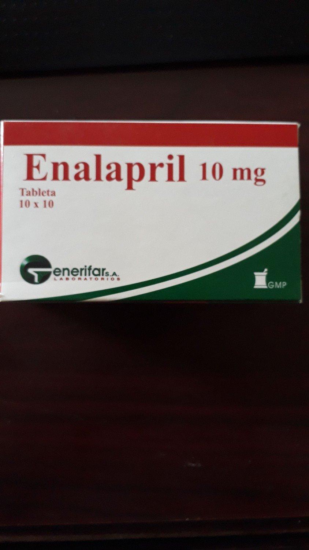 Enalapril ascendis 10mg tablets