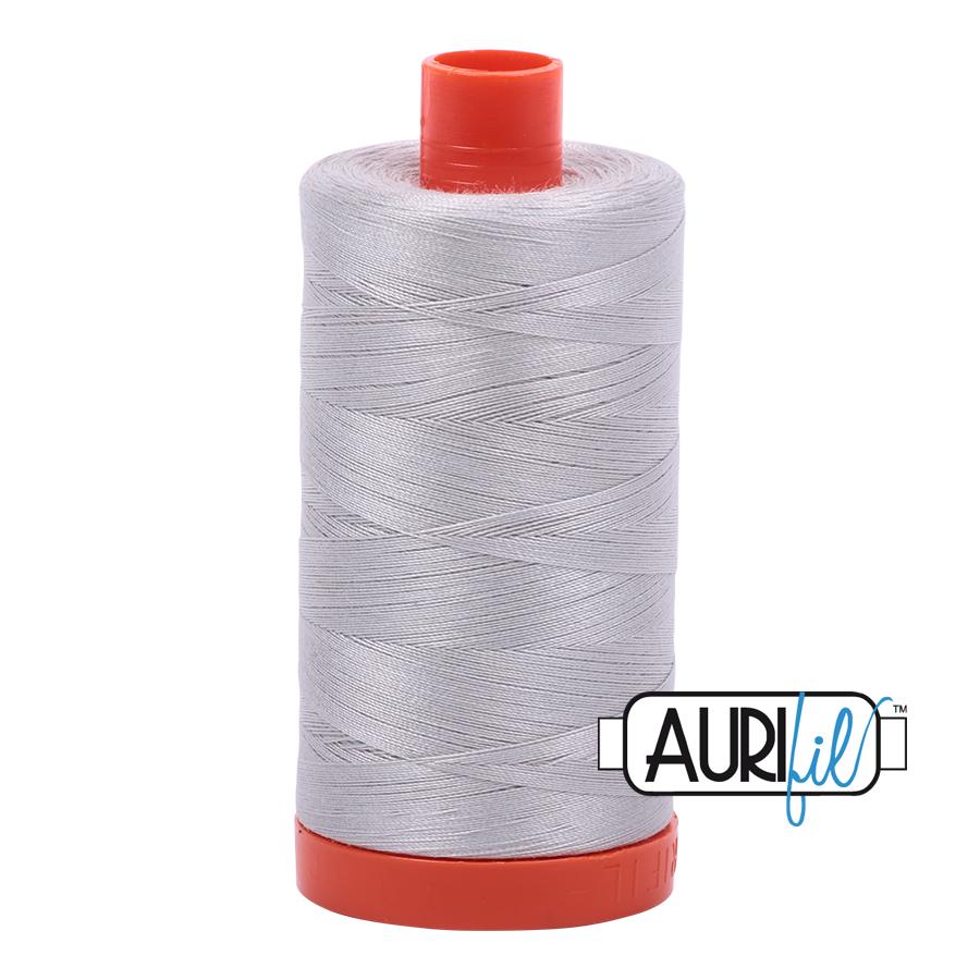 Col. # 2615 - alunimium - Aurifil 50 weight MK50-1300-2615