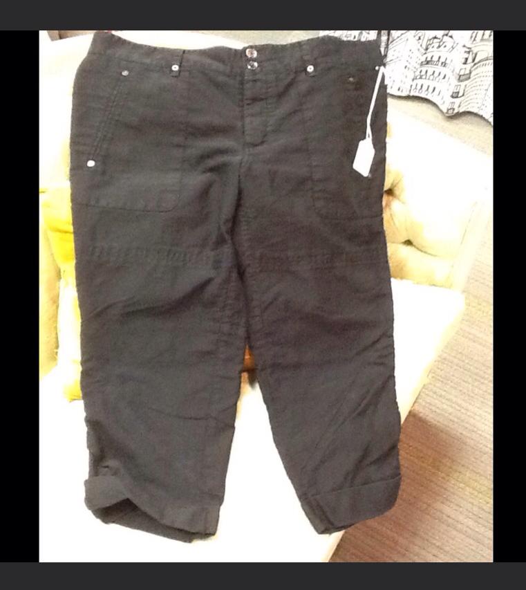 Joes Jeans Black Capris - 30