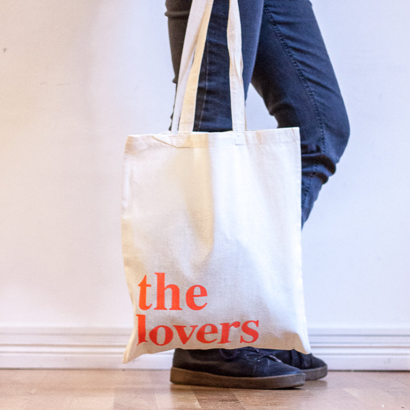 THE LOVERS BAG – neon rot