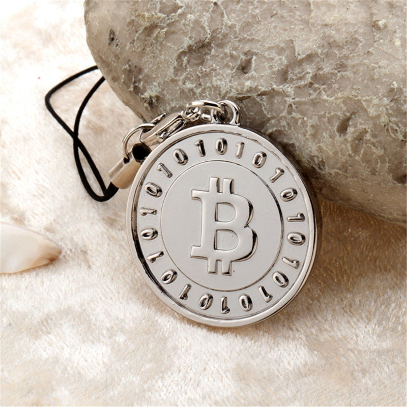 New style Bitcoin keychain llavero pareja car keychain key rings friendship keychains man and woman