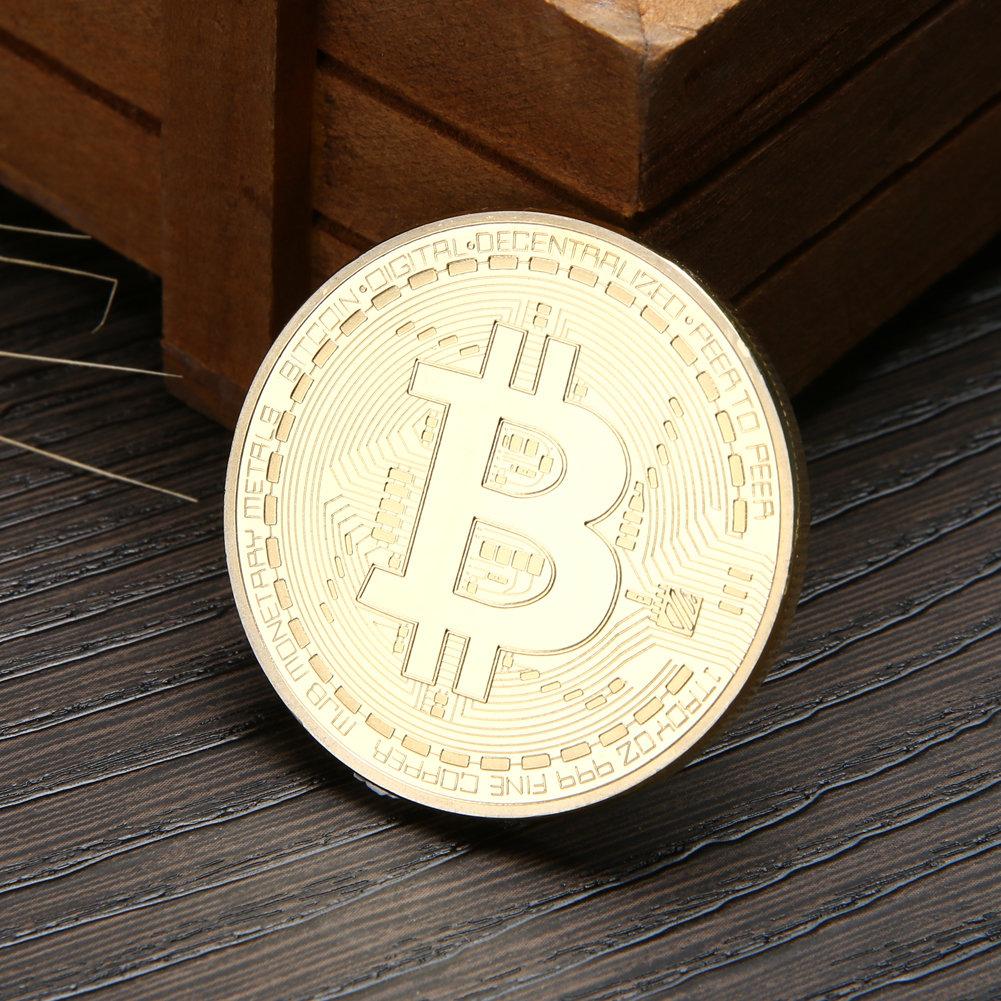 Bitcoin Coin - physical coin
