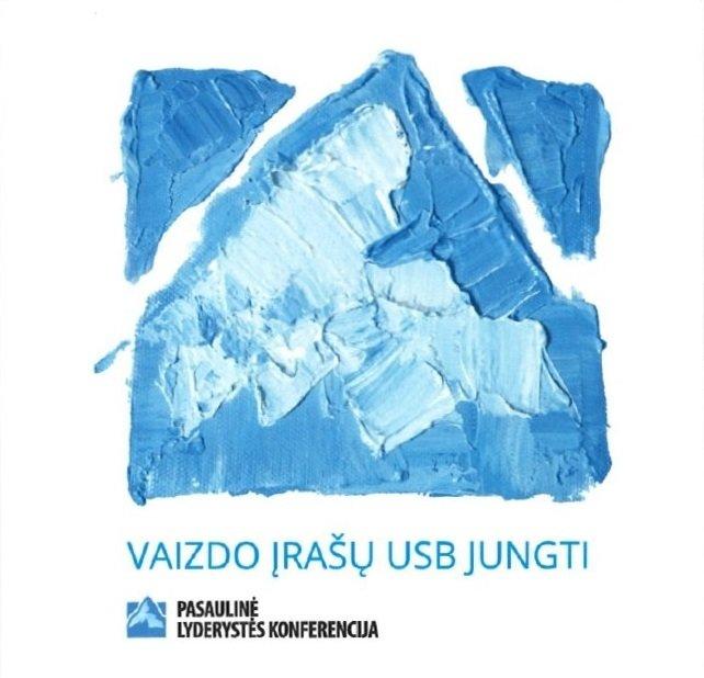 2017 M. PASAULINĖS LYDERYSTĖS KONFERENCIJOS VAIZDO ĮRAŠŲ USB JUNGTIS 00152