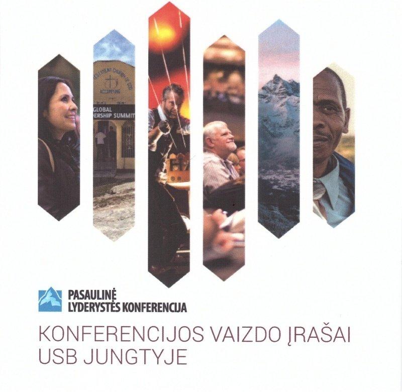 2016 M. PASAULINĖS LYDERYSTĖS KONFERENCIJOS VAIZDO ĮRAŠŲ USB JUNGTIS 00153