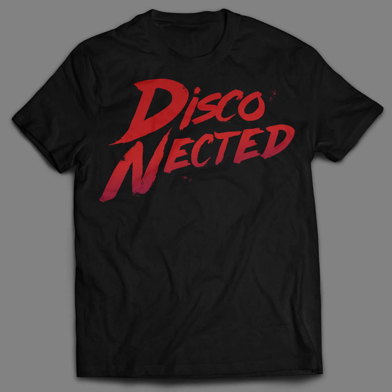 T-SHIRT DISCO-NECTED UNISEX 0DISCOUNISTD