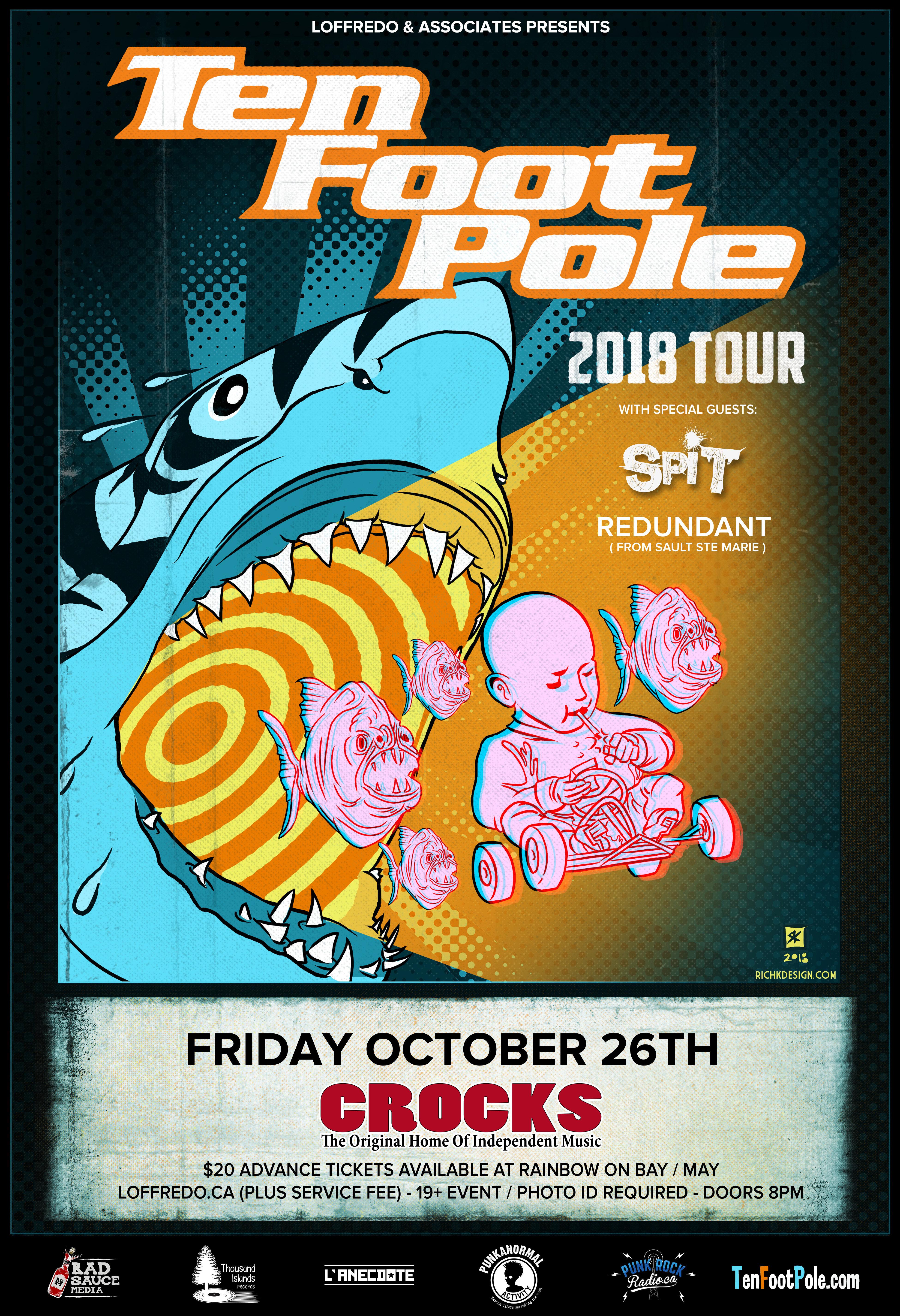 Ten Foot Pole - October 26th At Crocks 00279