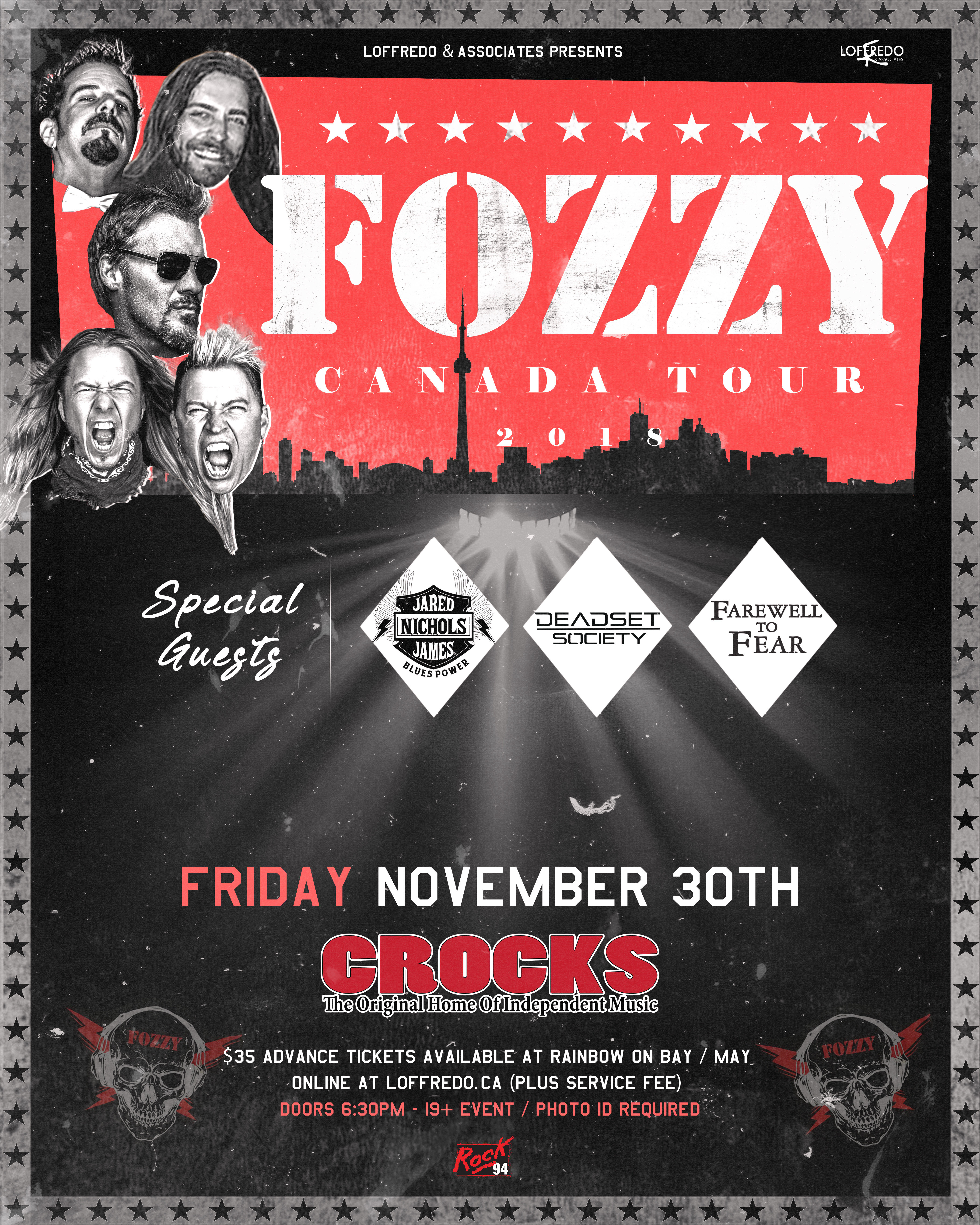 FOZZY - Friday November 30th at Crocks 00278