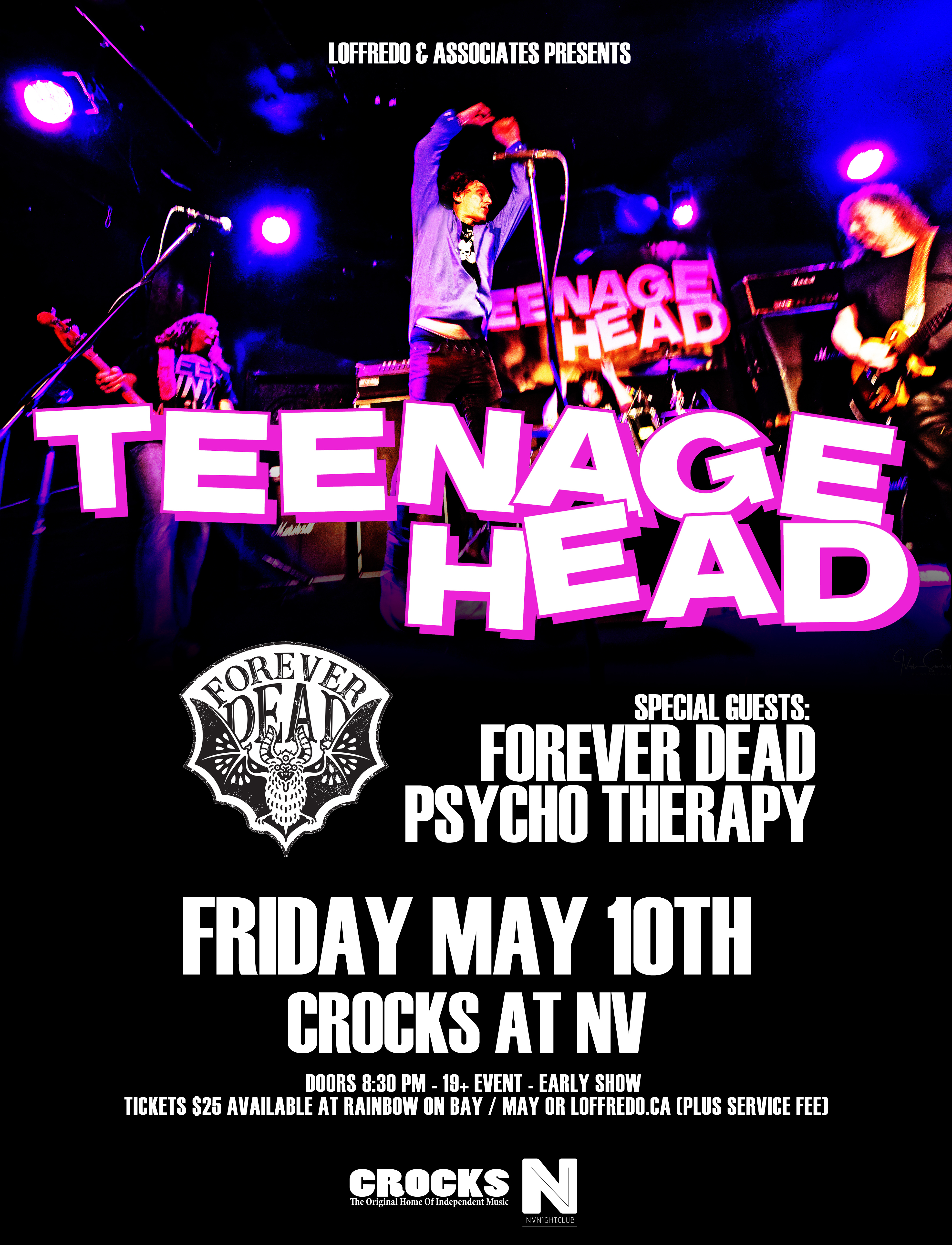 Teenage Head - Friday May 10th - Crocks At NV 00289