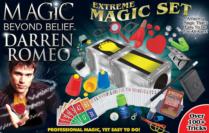 Magic Beyond Belief - Darren Romeo Extreme Magic Set (Signed by Darren) 00000