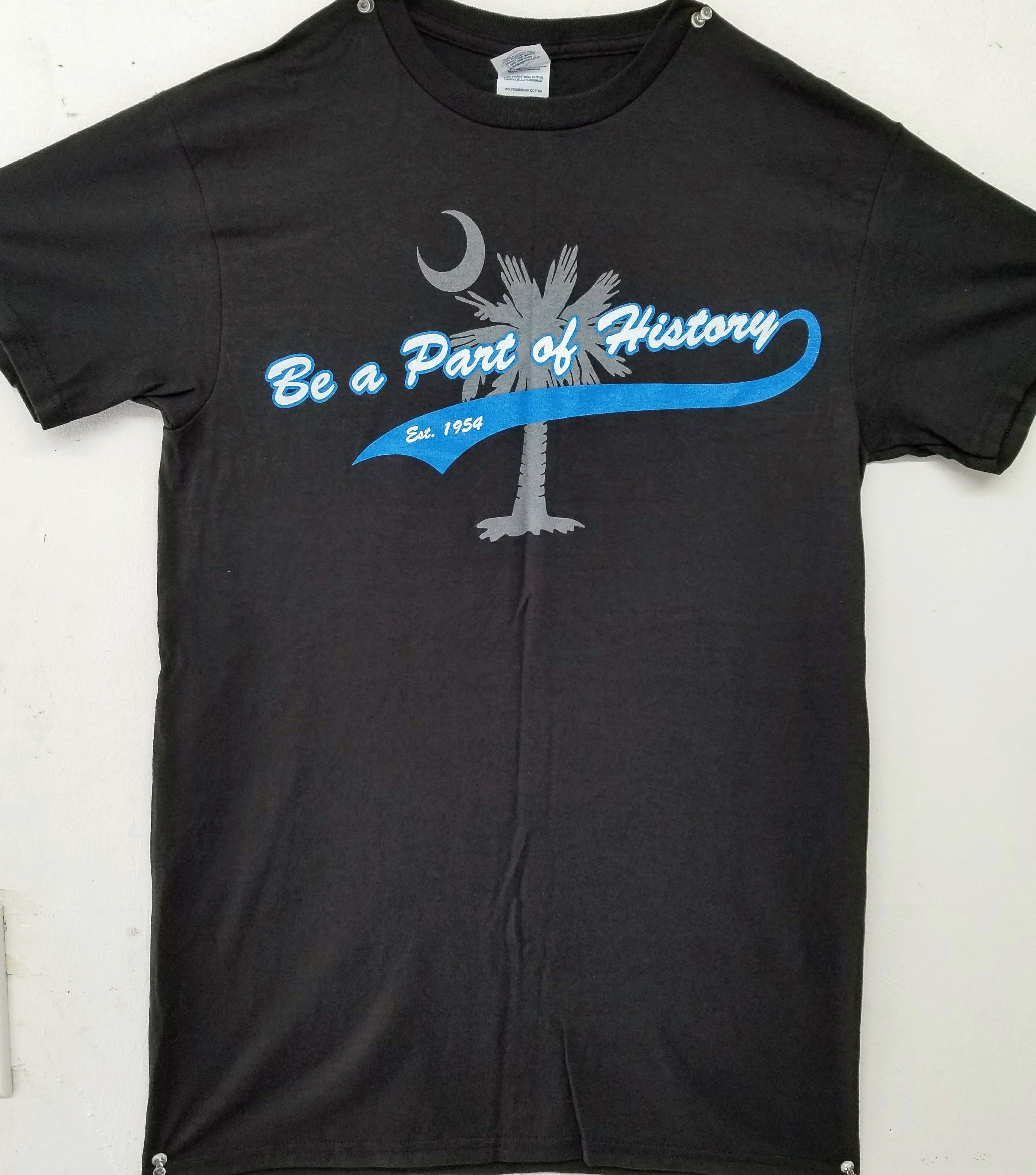 """Be a Part of History' Adult Tee (FRONT)"