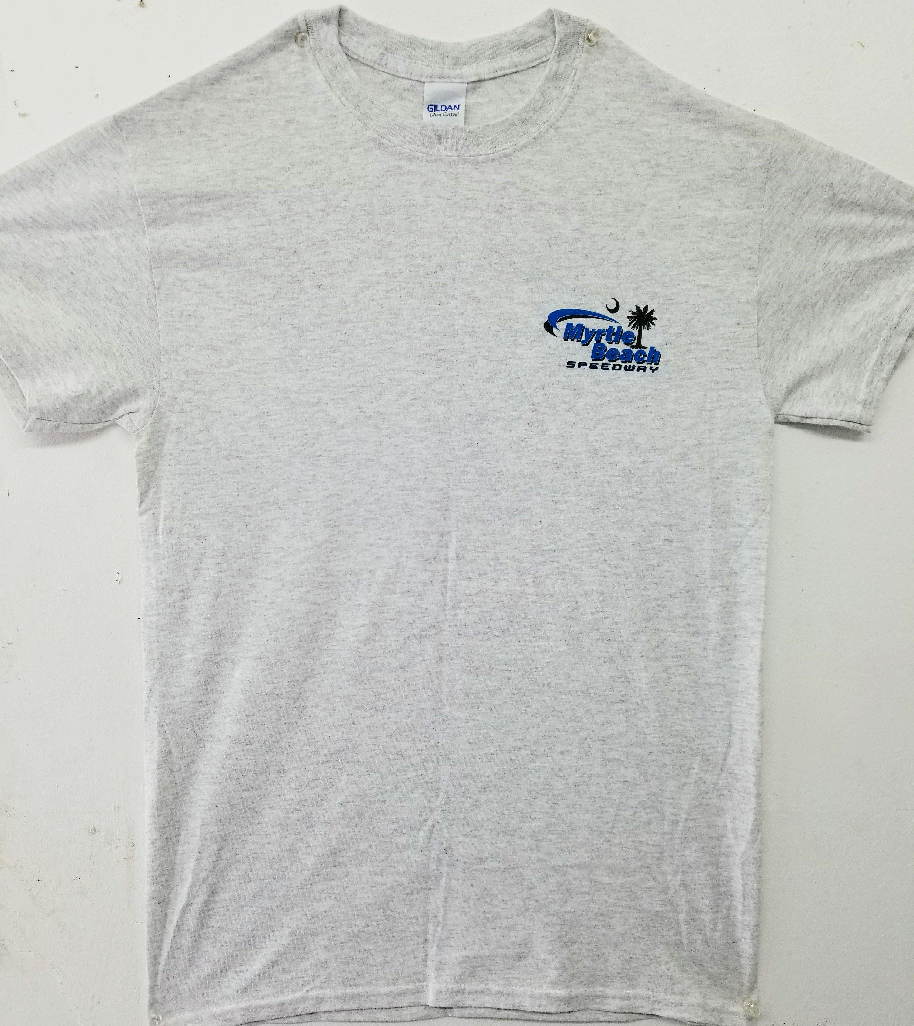 Myrtle Beach Speedway Adult Logo Tee (FRONT)