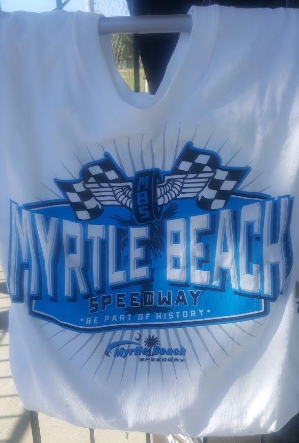Myrtle Beach Speedway Adult 'Race' Tee 2017-06
