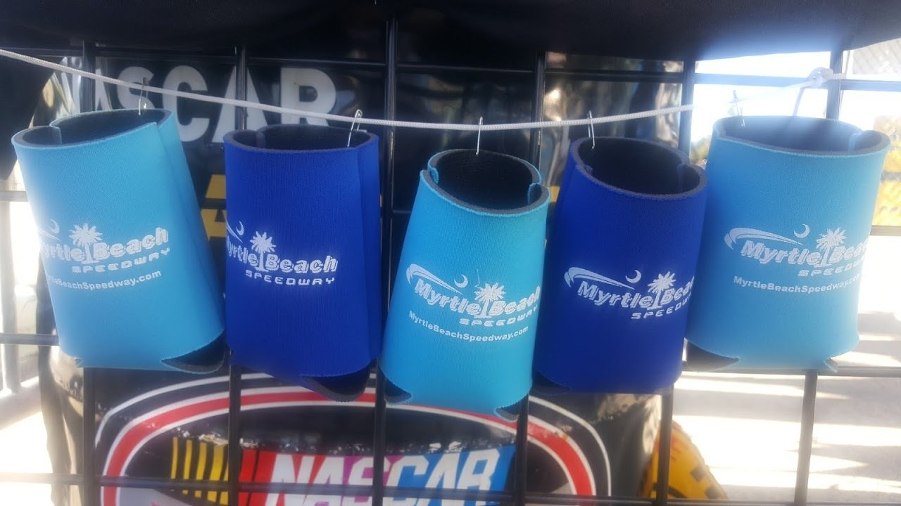 Myrtle Beach Speedway Can Coozies 2017-08