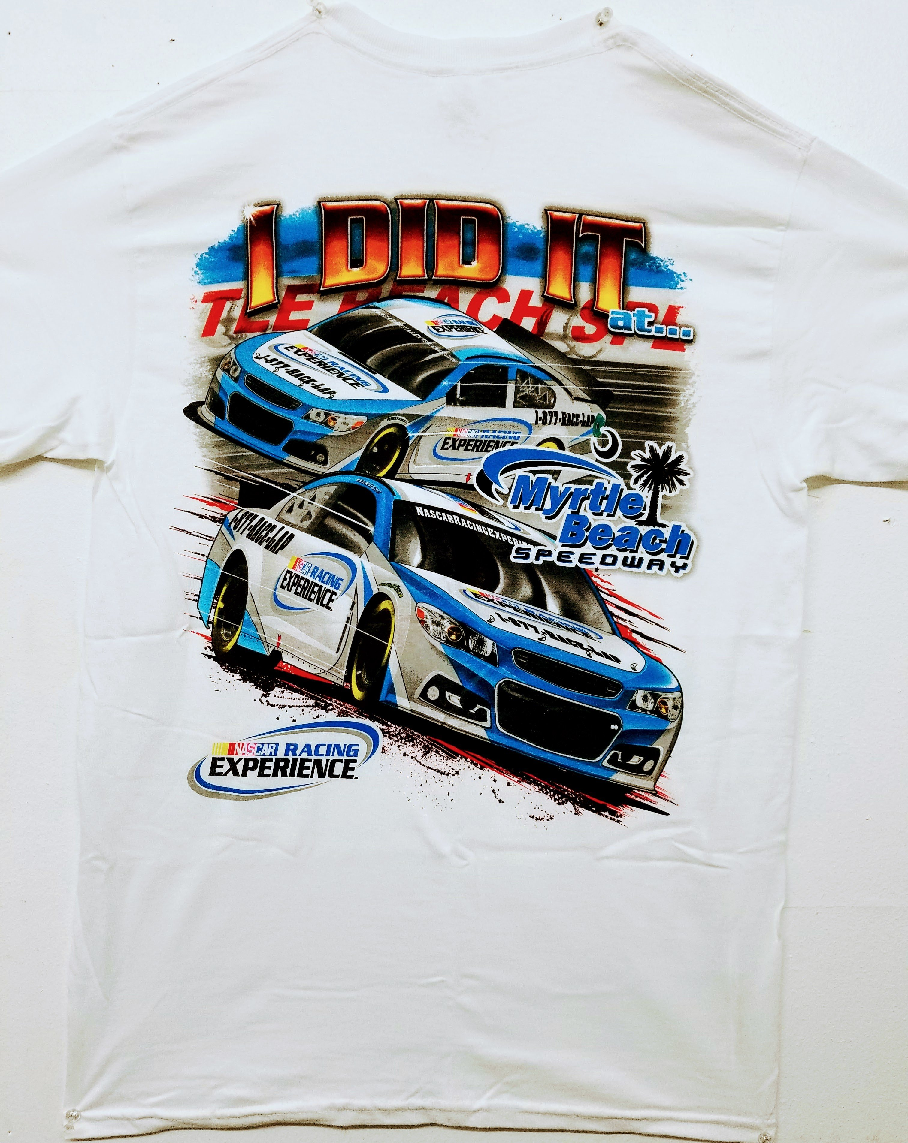 Myrtle Beach Speedway 'I Did It!' Adult Tee 2017-07