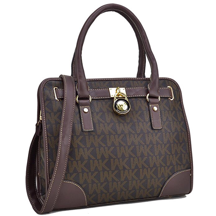 Medium Satchel 2 Pieces Purse Set Designer Handbag Top Handle Shoulder Bag  Padlock(FREE EXPRESS SHIPPING) 83d6ecde63be7