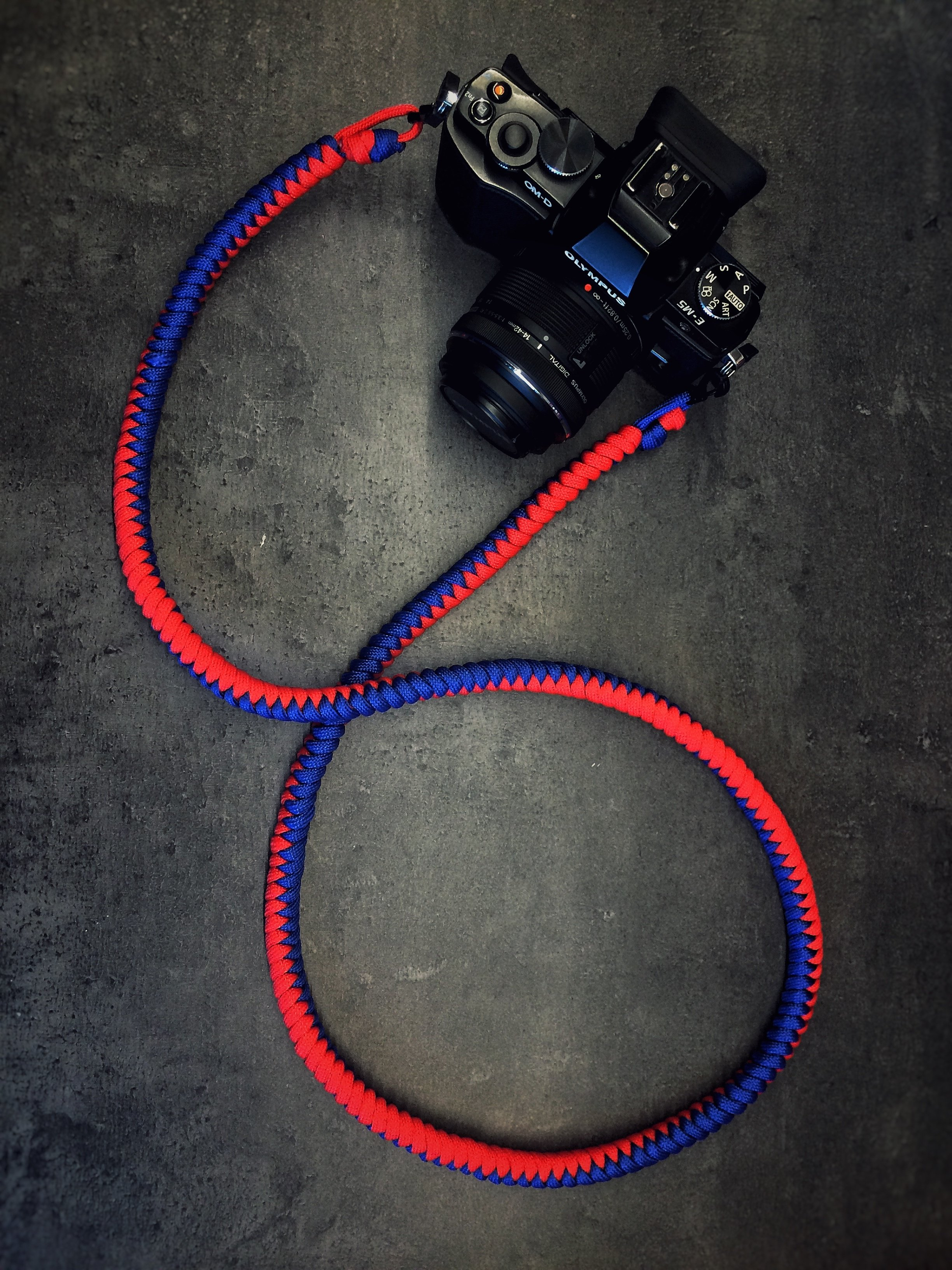 Camera Neck Strap - Blue/Red a.k.a. Tivoli