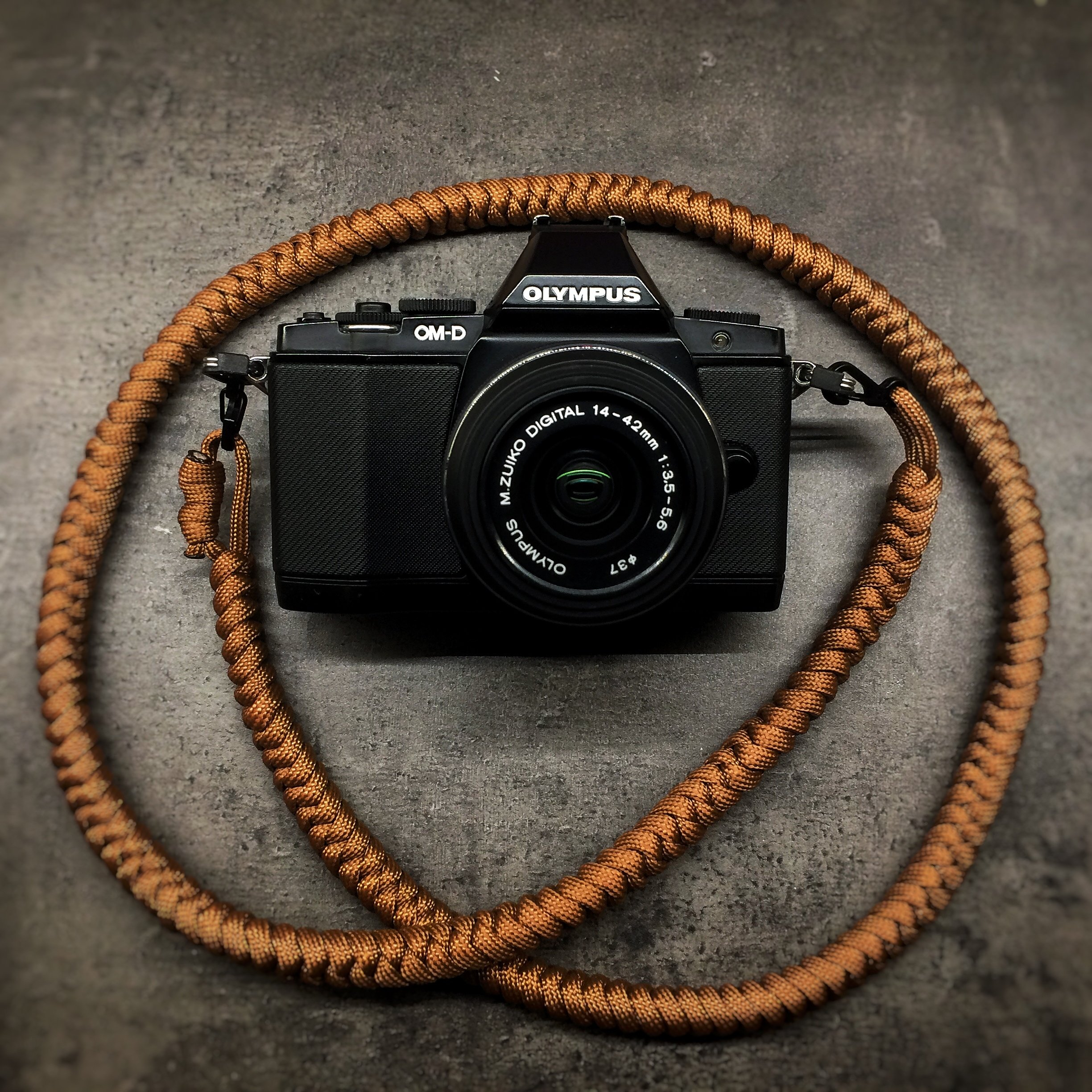 Camera Neck Strap - Earth Brown 0003