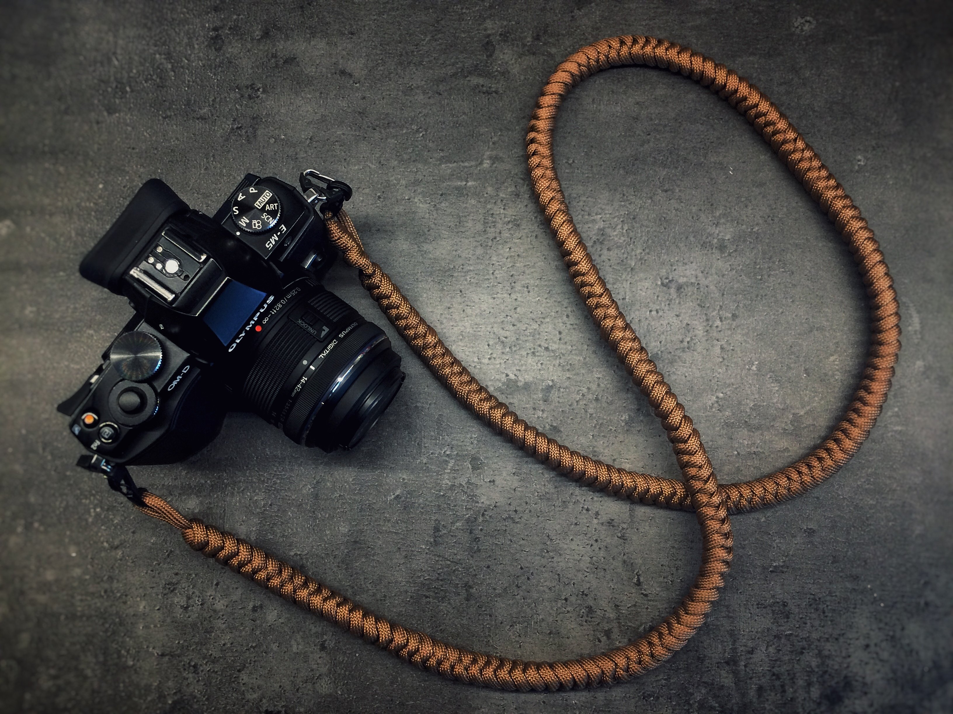Camera Neck Strap - Earth Brown