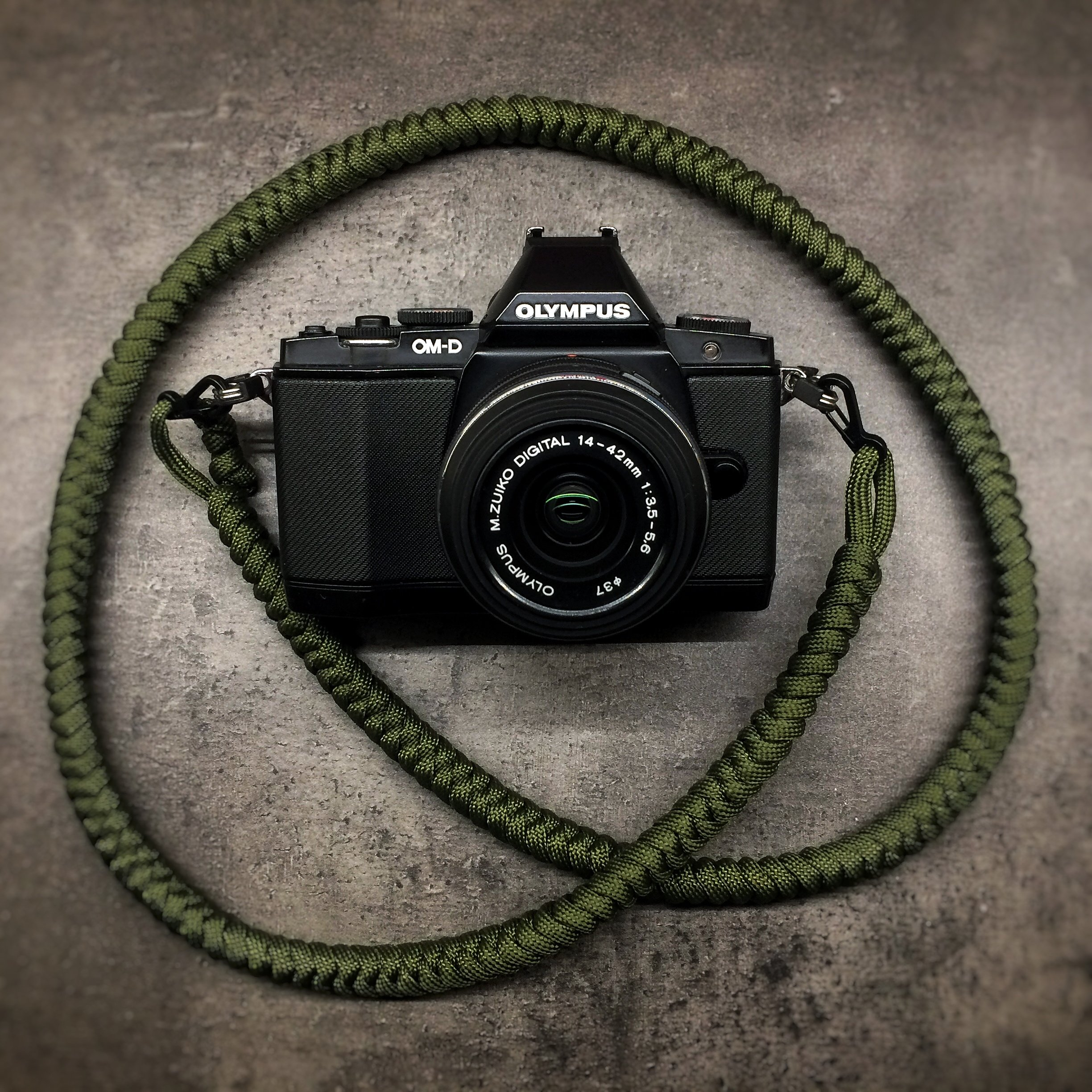 Camera Neck Strap - Army Green 0004