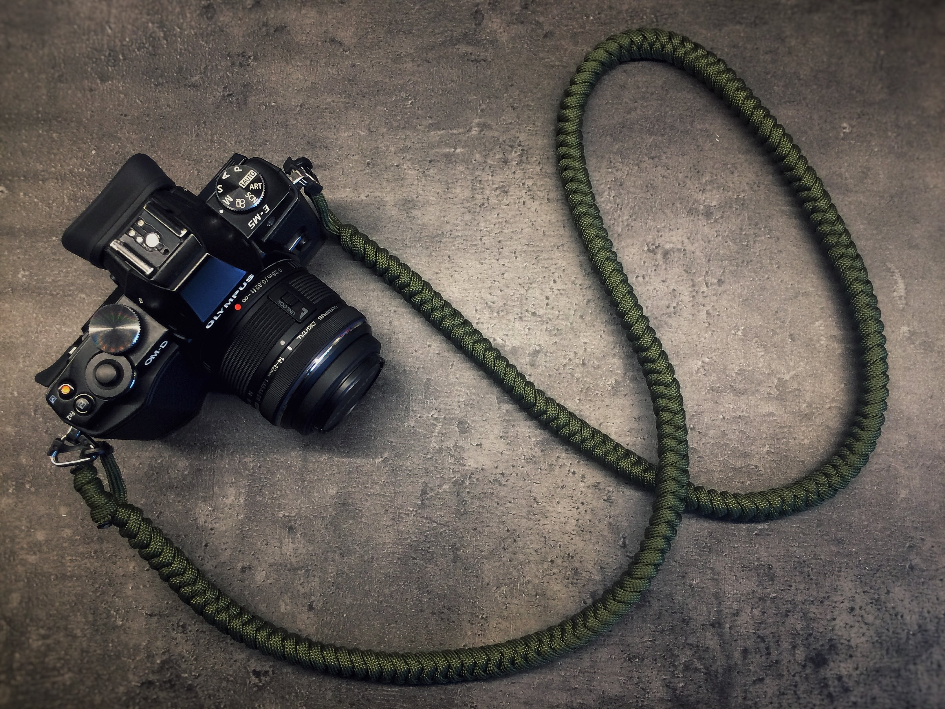 Camera Neck Strap - Army Green