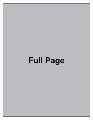 Full Page Advertising Full Page