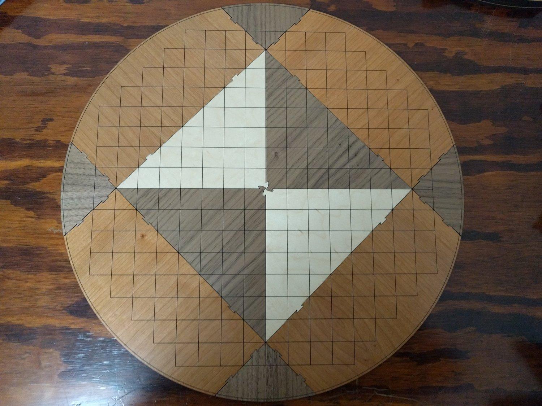 The Garden Gate Pai Sho Board